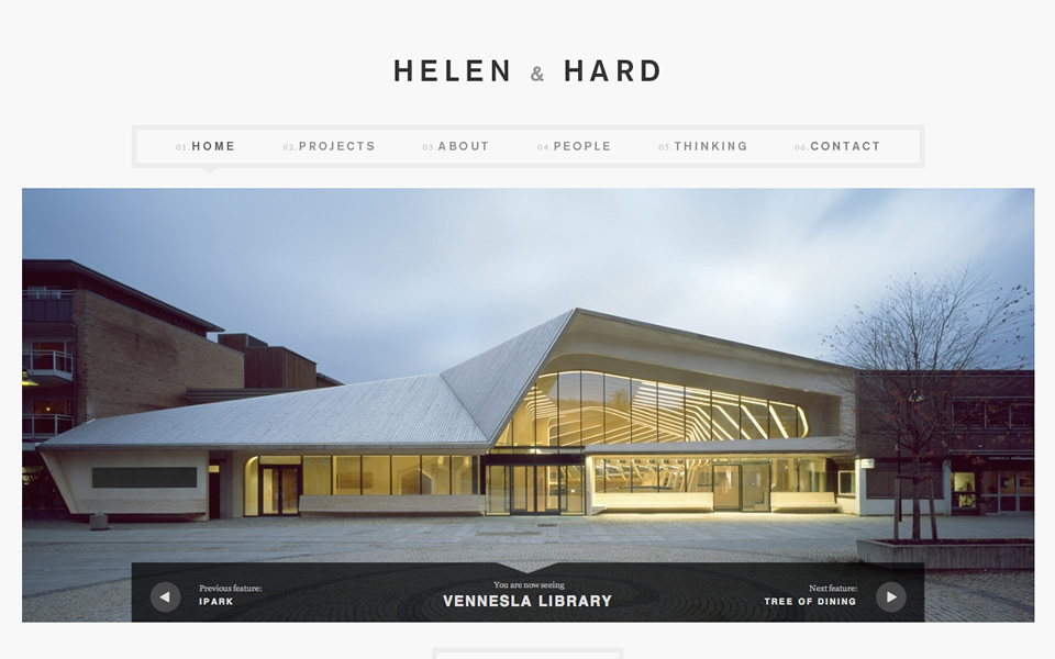architecture html inspiration html css web design