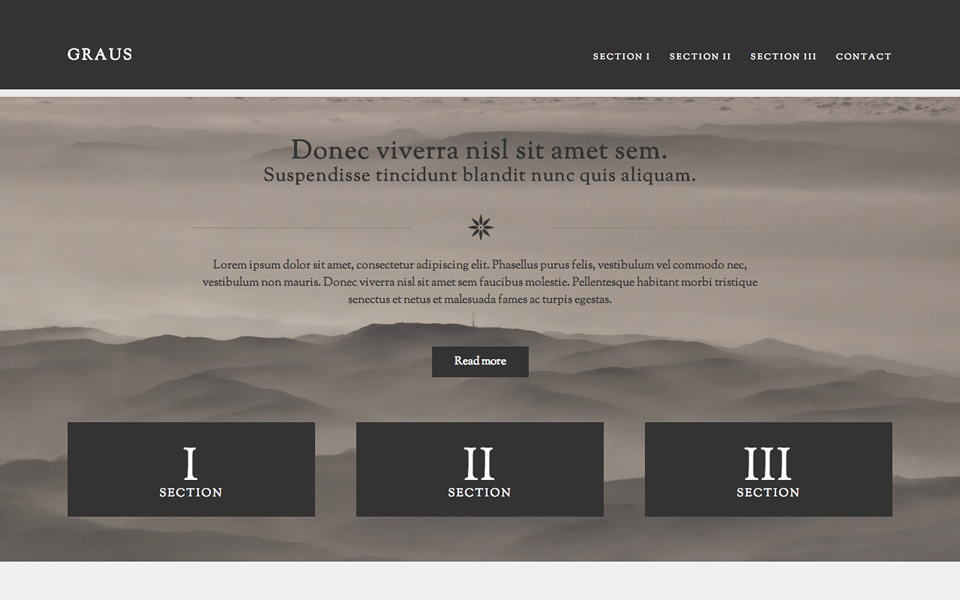 Templates HTML - html inspiration | HTML/CSS Web Design Inspiration