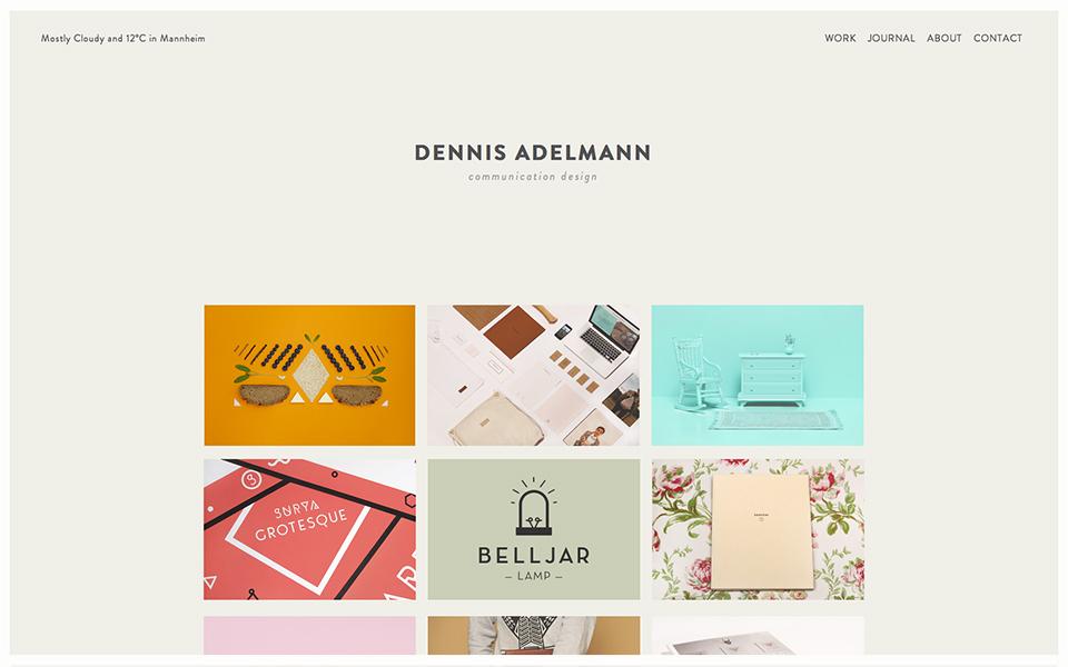 Portfolio Design Ideas