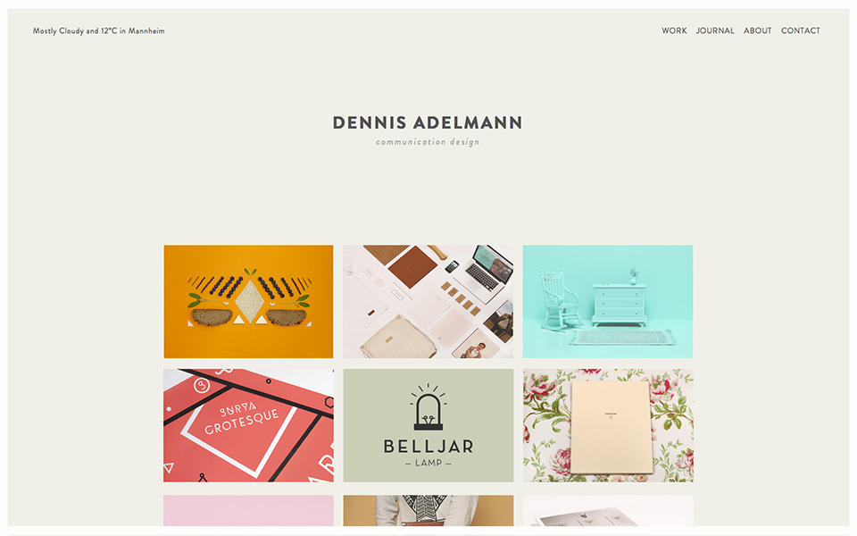 web design portfolio inspiration online image