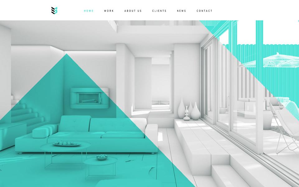 Architecture Html Inspiration Html Css Web Design Inspiration