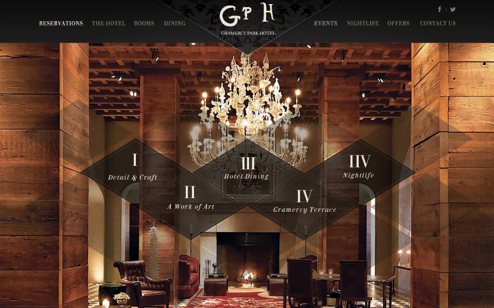 Hotel and restaurants html inspiration css web